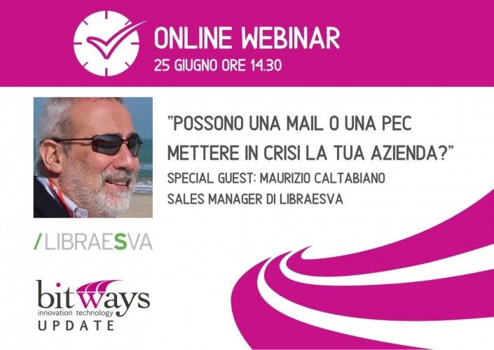 Webinar Bitways LIBRAESVA